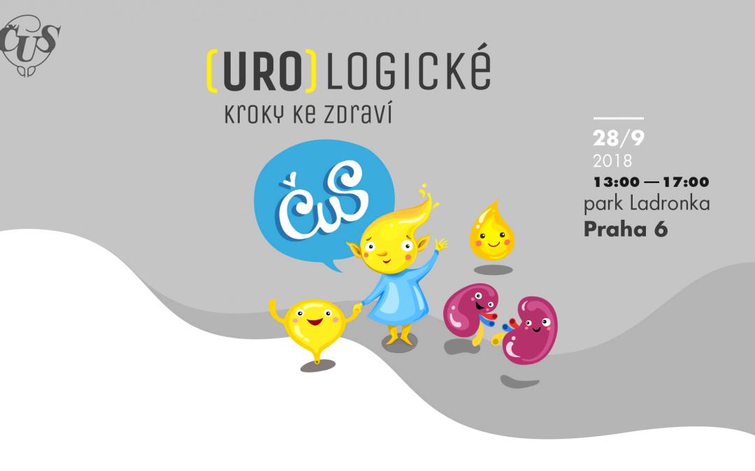 Spuštěna FB stránka (URO)logické kroky ke zdraví, 28. 9. 2018, park Ladronka, Praha 6
